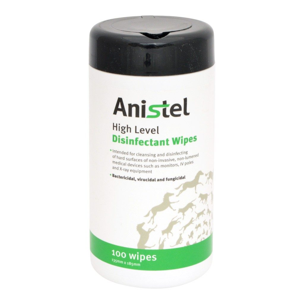 Anistel Disinfectant Wipes Purrsonal Touch